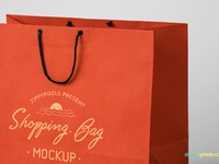 image 4 - Free Shopping Bag Mockup