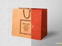 image 5 - Free Shopping Bag Mockup