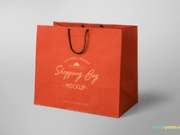 image 2 - Free Shopping Bag Mockup