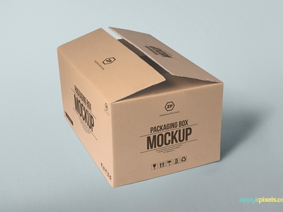2 Free Packaging Box Mockups branding box mockup packaging box mockup packaging design cardboard box packaging carton box psd mockups freebie free