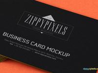 image 2 - Free Business Card PSD Mockup