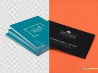 image 4 - Free Business Card PSD Mockup