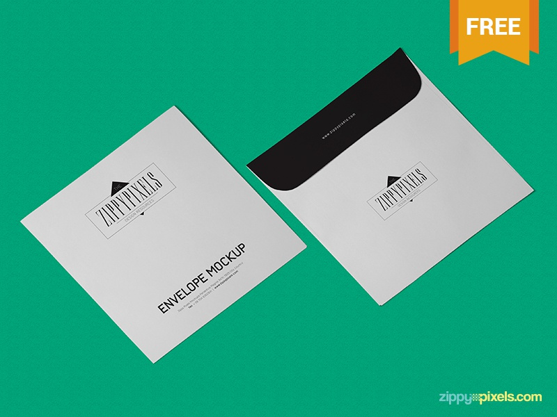 Free Envelope Mockup PSD In Isometric View isometric envelope mockup branding stationery envelope psd mockup freebie free