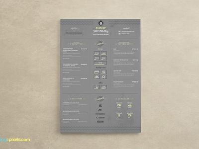 Corporate Resume & Cover Letter Template cv template psd resume resume design curriculum vitae cv professional resume cover letter template resume template cover letter resume psd template