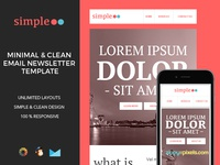 Simple – Responsive Email Template