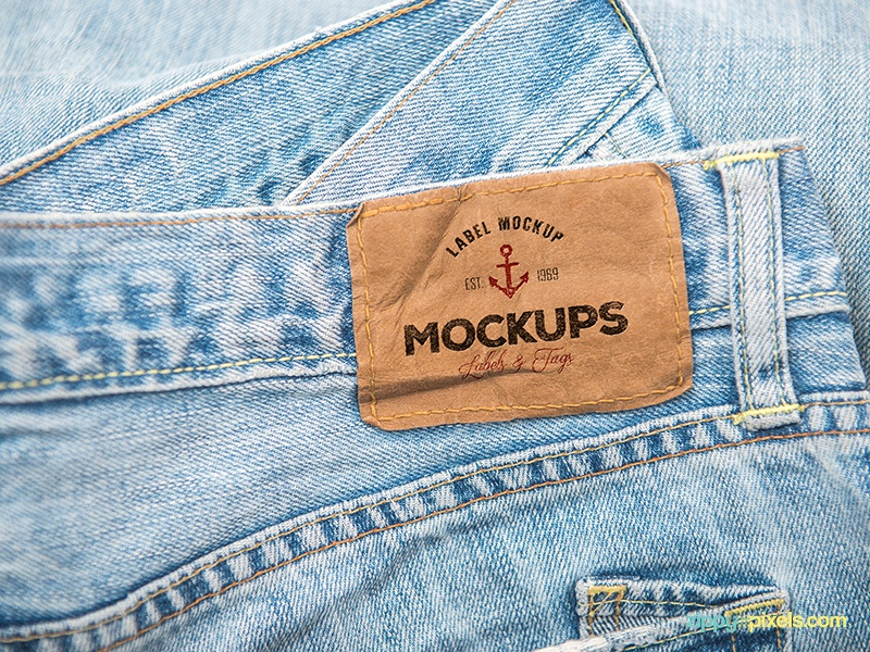 10 psd clothing label mockups by zippypixels dribbble