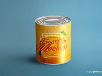 image 1 - Free Food Can Mock-Up