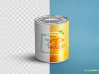 image 4 - Free Food Can Mock-Up