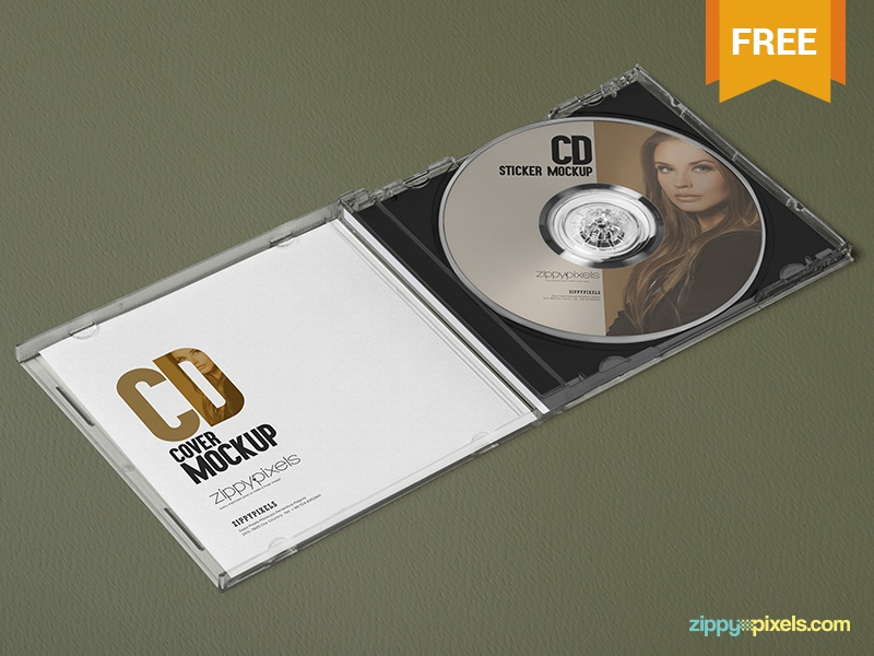 3 free plastic cd case mockups by zippypixels dribbble dribbble