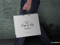 image 1 - Free Shopping Bag Mockup PSD
