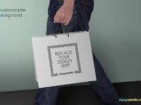 image 4 - Free Shopping Bag Mockup PSD