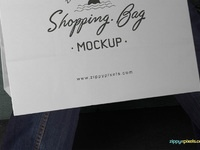 image 2 - Free Shopping Bag Mockup PSD