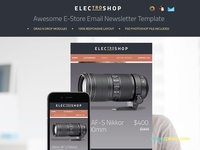 Electroshop – Elegant Business Email Template
