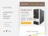 Hosting – Responsive Newsletter Template