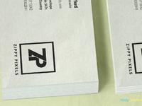 image 2 - Free Stacked Visiting Card Mockup