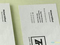 image 3 - Free Stacked Visiting Card Mockup