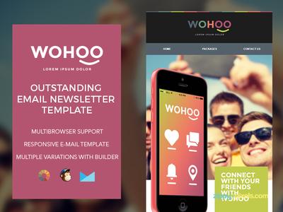 Wohoo – Newsletter HTML Template