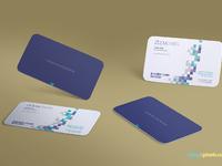 image 4 - Free Gravity Business Card Mockup