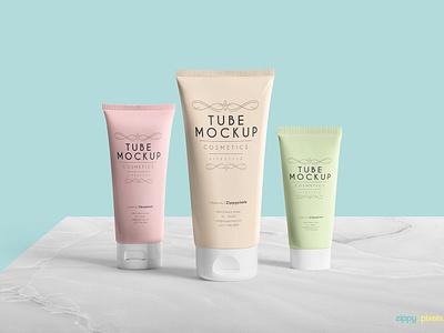 Free Breathtaking Tube Mockup PSD psd tubemockup cosmetictube packagingtube packaging mockup tube freebie free
