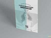 image 02 - Free 2 Fold Brochure Mockup