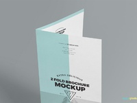 image 03 - Free 2 Fold Brochure Mockup