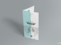 image 01 - Free 2 Fold Brochure Mockup
