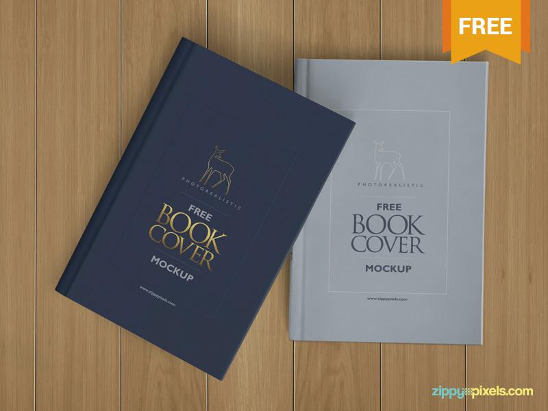Free Beautiful Hardcover Book Mockup branding hard cover book photoshop psd mockup freebie free