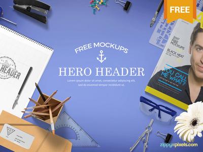 Free Sophisticated Website Hero Images Mockup Scene