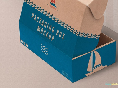 Free Product Box Mockup pack branding productbox box packaging photoshop psd mockup freebie free