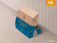 Free Product Box Mockup