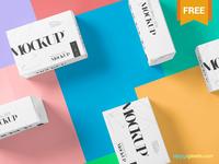 Free Beautiful Packaging Box Mockup