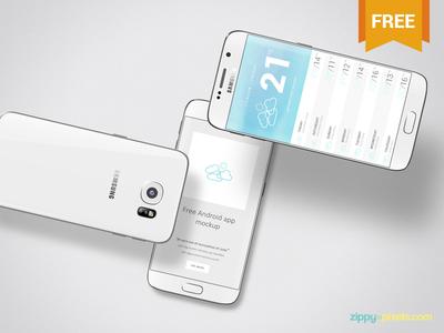 Free Android App Mockup