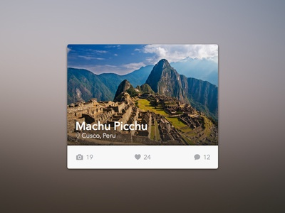 Travel Widget [Freebie]