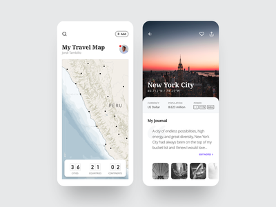 Travel Notes App
