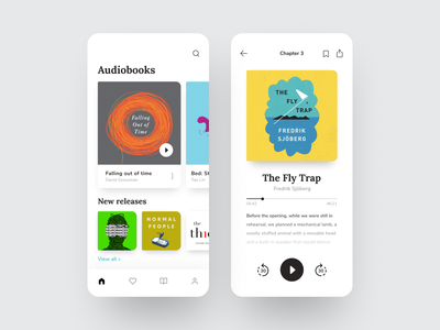 Audiobook Mobile App