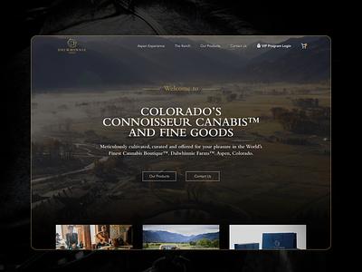 Colorado's Connoisseur Canabis™ New Website Concept