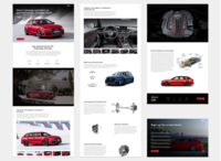 Audi RS6 overview page