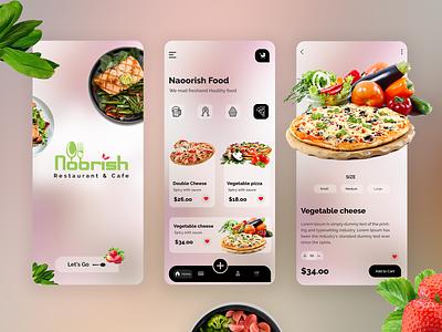 Food App foodie website design vector branding graphicsdesign logo illustration uidesign uiux mobileappdesign mobile app design dinner food foodui food truck food app