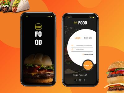 food login screen