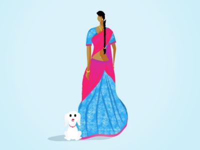 Tamilian Woman