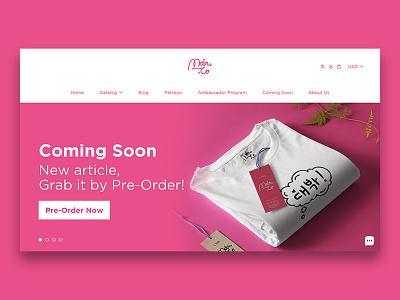 Noir typography landing page web brand website branding design app ux ui