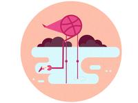 Dribble Flamingo