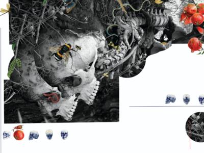 Alternative illustration photoshop adobe artwork death collage
