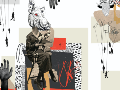 Animal manipulation evil artwork adobe illustration photoshop animals collage