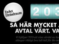 Teaser banner for FacketForandras.nu