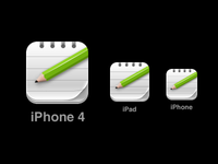 Notes iOS Icon