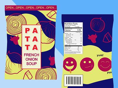 Snack Bag Package Design snacks crisps chips packagedesign package package design branding vector business graphics digital design illustrator