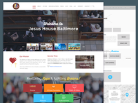 Church Website Design & Wireframe