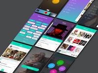 Music App Screens