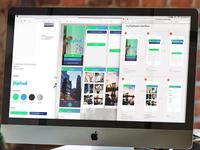 Flipbook App Screens and Userflow